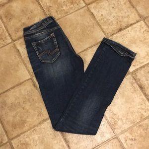 Silver Suki Slim Boot Jeans - W26/L35